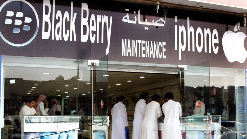 Saudi official says agreement reached with BlackBerry | CTV News