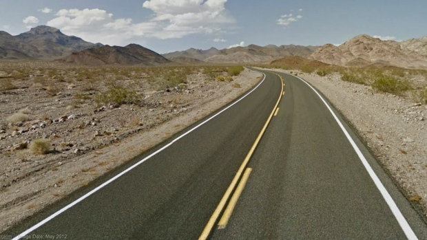 Google Street View national parks road trip