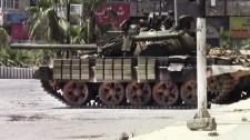 Syria military tank