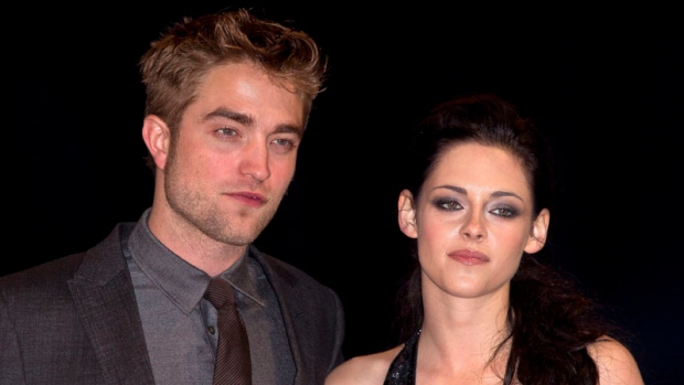 Robert Pattinson and Kristen Stewart Breaking Dawn premiere