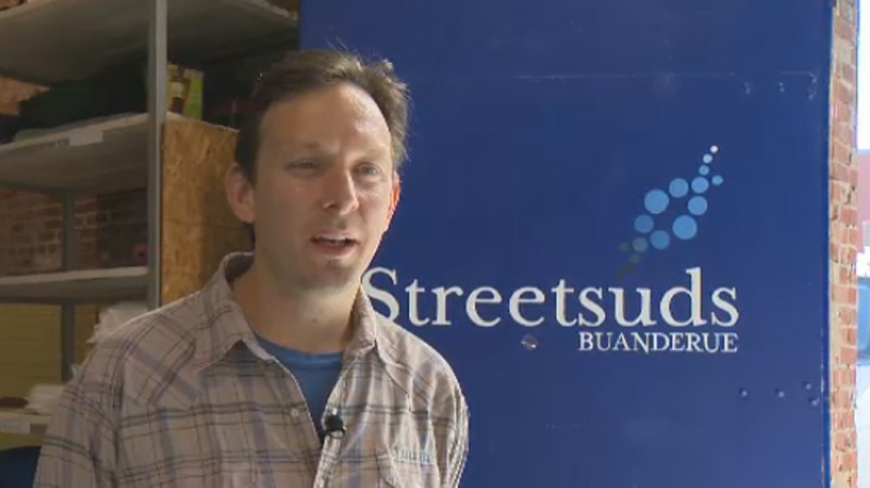 Alain Spitzer has secured enough funding to keep the operation going for two years, after which he hopes the Streetsuds industrial laundry business will be self-sustaining.