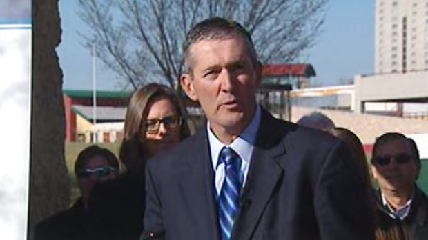 Brian Pallister will become the leader of the Conservative Part of Manitoba Monday. (file image)