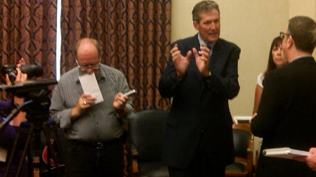 Brian Pallister has won the Fort Whyte byelection in Winnipeg.