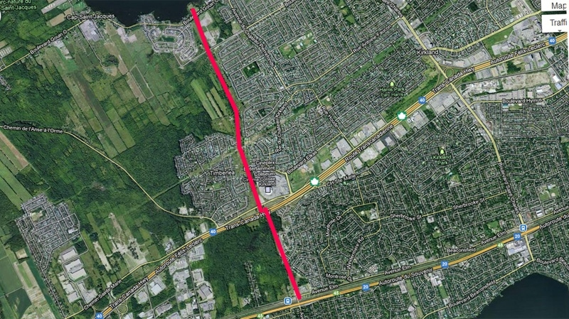 An urban boulevard is set to be built in the West Island