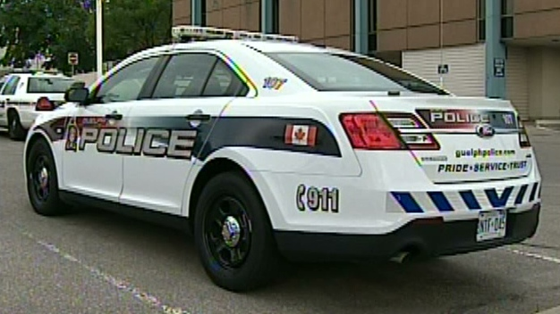 A Guelph Police Service cruiser is seen on Tuesday, July 31, 2012.