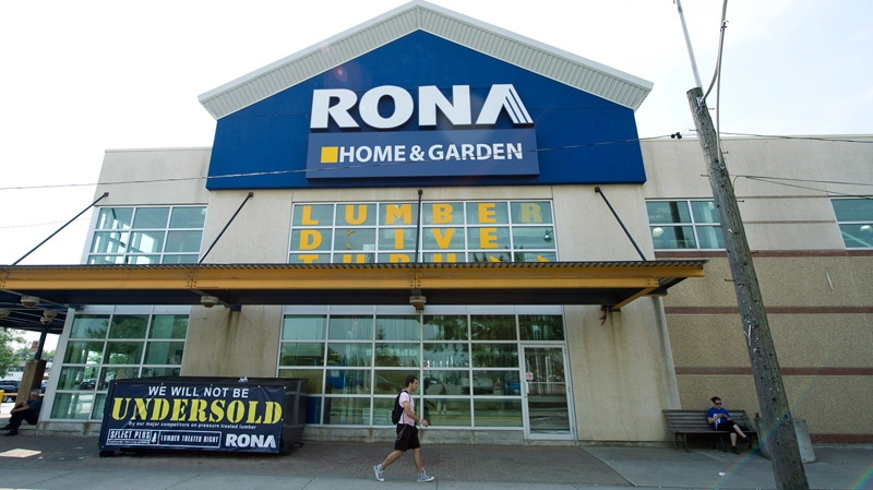 A Rona store is shown in Toronto on Tuesday, July 31, 2012. (Nathan Denette / THE CANADIAN PRESS)