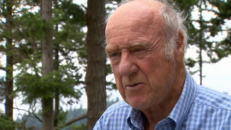 Retired judge Thomas Braidwood speaks to CTV News after a B.C. Supreme Court judge overturned a Taser International challenge of his findings. Aug. 10, 2010. (CTV)