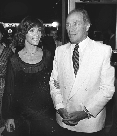 Former Prime Minister Pierre Trudeau arrives at the premiere showing of the film, 'Louisiana' with actress Margot Kidder Aug.2, 1984 in Montreal. (Moe Doiron / THE CANADIAN PRESS)