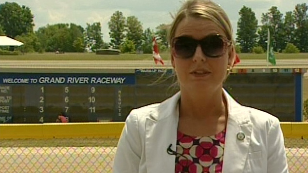 Andrea Ravensdale produced the new documentary campaigning to keep slots at Ontario racetracks.