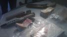 firearms; Edmonton; EDGE; bus