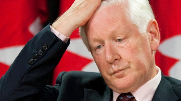 Liberal MP Bob Rae speaks to reporters during a press conference at the National Press Theatre in Ottawa on Wednesday Aug. 11, 2010. (Sean Kilpatrick / THE CANADIAN PRESS)