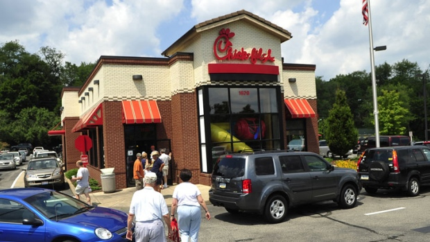 Woman breastfeeding asked to leave Chick-fil-A