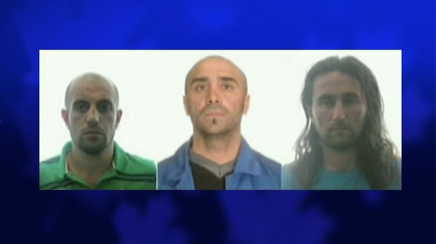 Three suspected al Qaeda members were arrested in Spain, Thursday, Aug. 2, 2012.