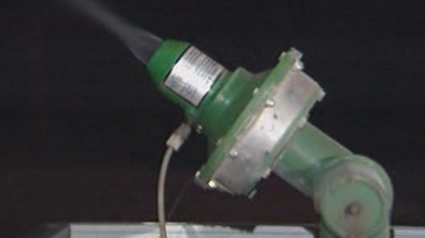 The trucks should begin spraying around 9:30 p.m. Aug. 2 until 2:30 a.m. on Aug. 3 in Portage la Prairie. (file image)