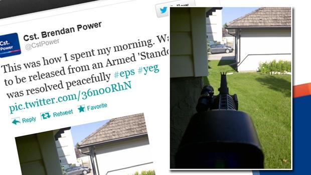 Constable Power Tweet