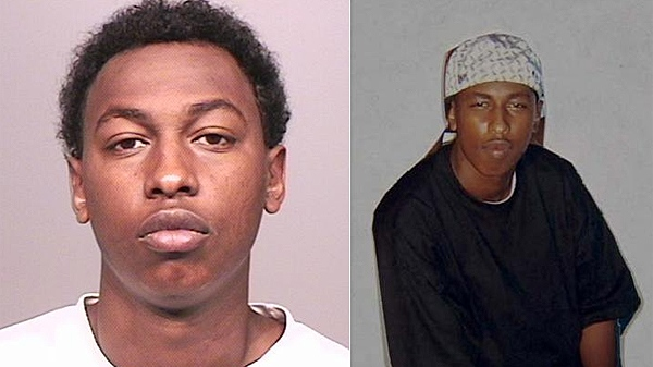 Windsor Police have released these undated photos of Mohamud Abukar Haji, 27.