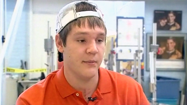 Chance Bothe, who texted 'I need to quit texting' before driving off a bridge, speaks with ABC13 in Houston.