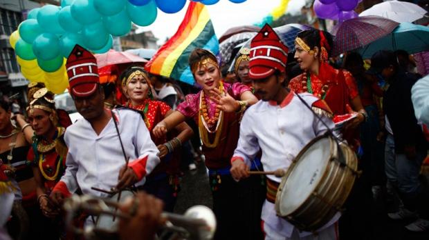 Nepal, gay rally