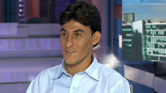 Former interpreter for the Canadian military in Afghanistan, Sayed Shah Sharifi, speaks to CTV News Channel on Friday, Aug. 3, 2012.
