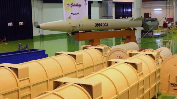 Iran unveils upgraded short-range missile | CTV News