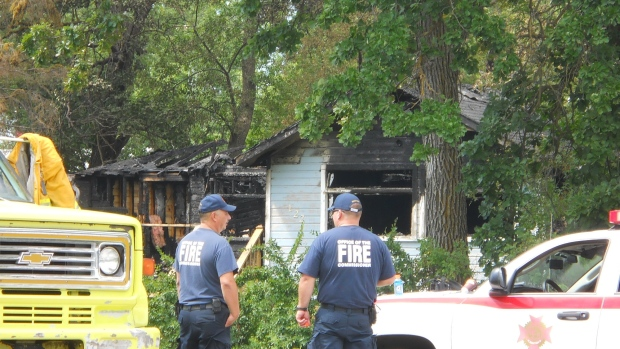 RCMP are investigating a fatal house fire in Winnipeg Beach.