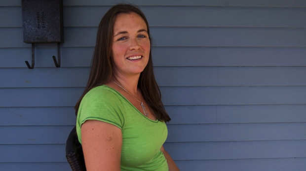 Dawn Hare is seen at home in Kentville, N.S., on Saturday, August 4, 2012.