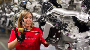 Canadian auto workers, GM