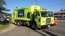 Green For Life (GFL) Environmental truck