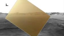 Mars colour image Curiosity rover