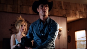 Matthew McConaughey and Juno Templein in VVS Films' 'Killer Joe.'