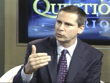 Ontario Premier Dalton McGuinty speaks with CTV's Question Period on Sunday, Jan. 13, 2008.