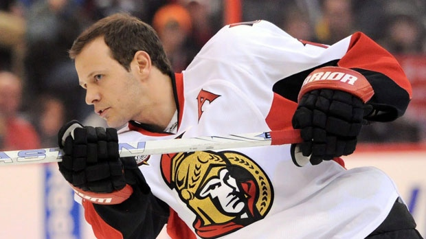 Ottawa Senators Jason Spezza  NHL All-Star skills competition
