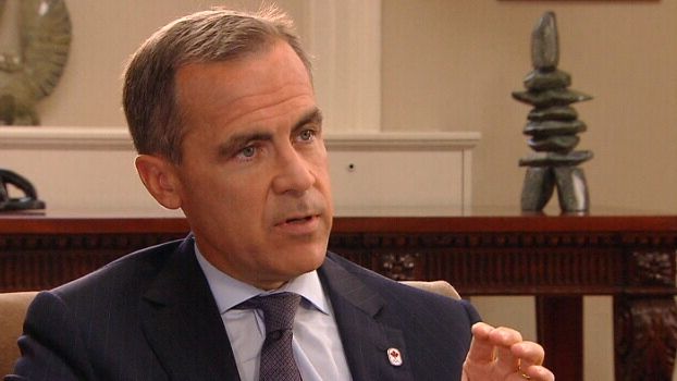 Bank of Canada Governor Mark Carney sat down with CTV's Chief Anchor and Senior Editor Lisa LaFlamme in London.