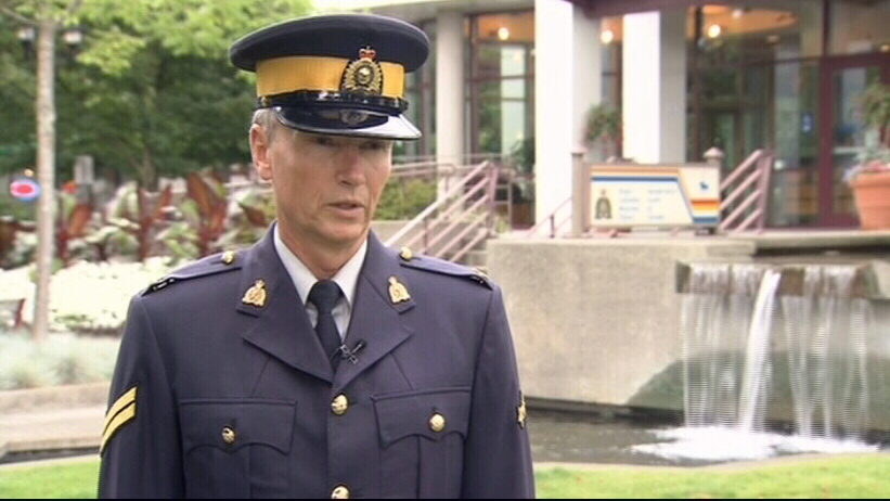 Cpl. Richard De Jong speaks with CTV News in North Vancouver, B.C. on Wednesday, Aug. 8, 2012.