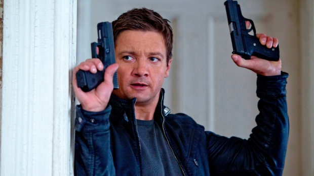 Jeremy Renner as Aaron Cross in Universal Pictures Canada's 'The Bourne Legacy.'