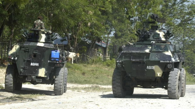 Armoured Personnel Carriers, Philippines, military