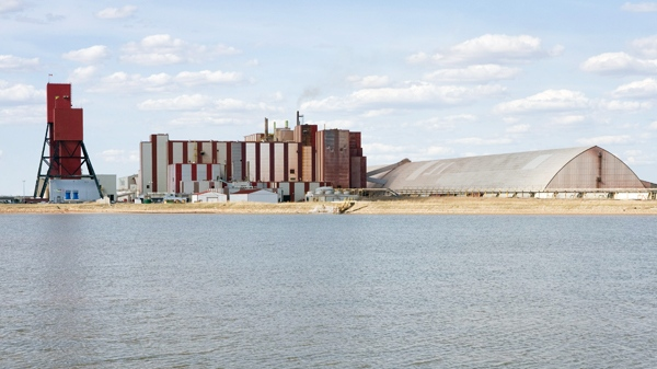 The Rocanville potash mine owed by the Potash Corporation of Saskatchewan in Rocanville, Sask. is shown in this 2007 photo. (Troy Fleece / THE CANADIAN PRESS)