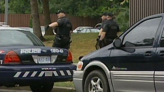 A man is recovering after a violent robbery in Kitchener, Ont. on Thursday, Aug. 9, 2012.