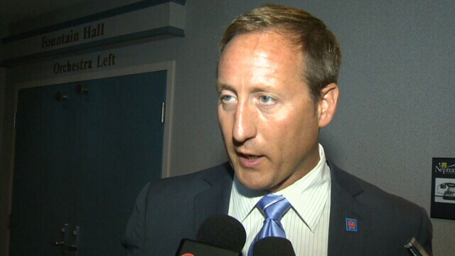Defence Minister Peter MacKay speaks about the latest job numbers in Halifax, Friday, Aug. 10, 2012.