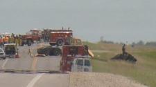 Fatal crash on Highway 3