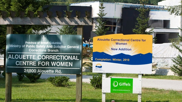 The Alouette Correctional Centre for Women is seen in Maple Ridge, B.C. Sunday, Aug. 15, 2010. The corrections facility is said to be where some of the 490 migrants who arrived in Canada by ship on Friday are being held. (Jonathan Hayward / THE CANADIAN PRESS)