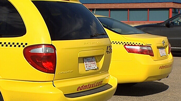Close to 800 cab drivers could be on strike Monday.