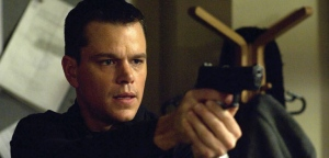 "This image originally released by Universal Pictures shows Matt Damon as the character Jason Bourne in ""The Bourne Ultimatum."" (AP Photo/Universal Pictures, Jasin Boland, file)"