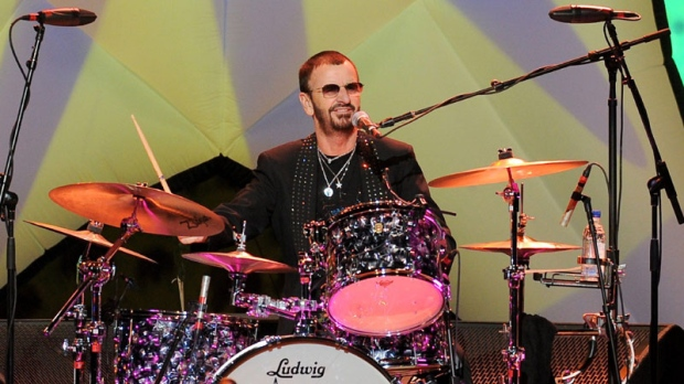 Musician Ringo Starr Performs With His All Band At Radio City Music Hall On Wednesday