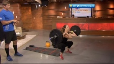 CTV British Columbia Morning Live: Exercise like an Olympian with Crossfit