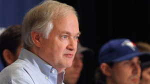 NHL Players Association executive director Donald Fehr listens to a question during a news conference after a meeting of the NHLPA executive board in Chicago on Wednesday, June 27, 2012. (AP Photo/Sitthixay Ditthavong)