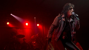 Alice Cooper performs during the Bonnaroo Music and Arts Festival in Manchester, Tenn., Sunday, June 10, 2012. (AP / Dave Martin)