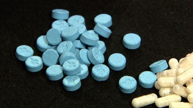 Ecstasy pills are seen in this file photo.