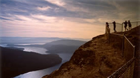Salt Spring Island's Mount Maxwell is seen in an image on the B.C. Parks' website.