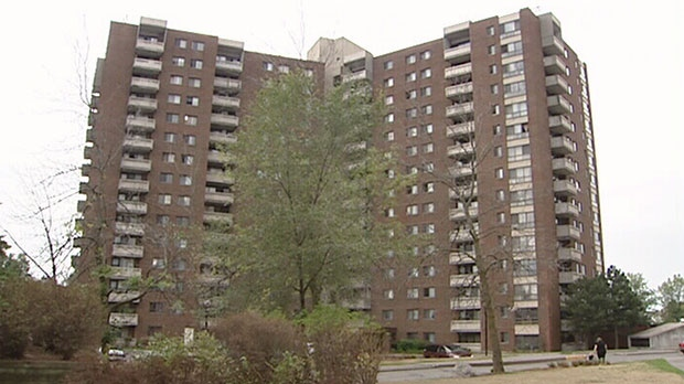 Hundreds of tenants of two buildings on Cedarwood Dr. receive eviction notices.